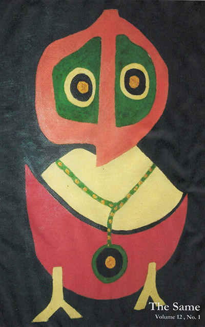 Cover is Bird With Necklace, oil on board by Richard McChesney Miller